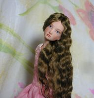 Victorian doll's face by MarynaS