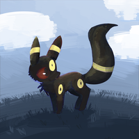 Daytime Umbreon by Kiytt