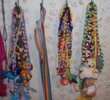 my necklaces by ninjalove134