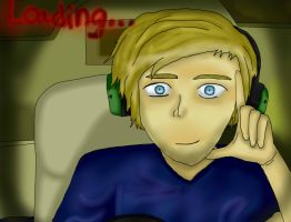 Pewdiepie by mgwolf999