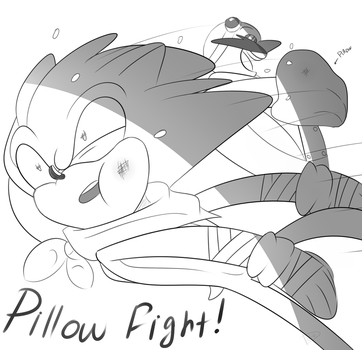 Pillow Fight by Du-O