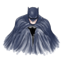 Batman Watercolour by b-dangerous