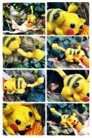 Pika Mouse Impressions II by Plushbox