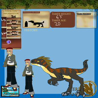 FREE TA Group Utahraptor Trainer Adoptable CLOSED by Asoq