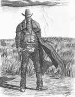 Outlaw Cowboy by TimB-MBM