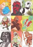 Star Wars Masterwork Sketch Card Preview by Tyrant-1