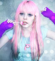 Scene Girl Lollipop Lover by cherrybomb-81