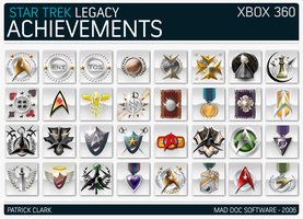 Star Trek Legacy Achievements by gearman