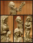 Italy Sculpture - Details - pg1 by concentriccookies