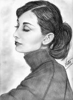 Audrey Hepburn by Allie06