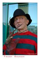 Freddy Krueger by Rabellu