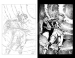 REBORN- Pencils and Inks by ZUCCO-ART