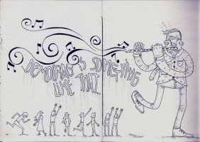 pied piper of hamelin by math-r