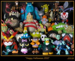 Happy Halloween 2011 by eccoarts
