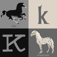 K for Horse by Citron--Vert