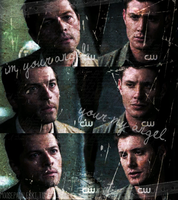 Dean and Cas - My Angel by mackie-ox