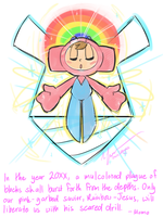 Rainbow Jesus by WHATiFGirl