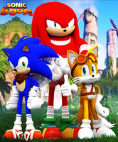 Sonic Boom Heroes HD Print Verison by Nibroc-Rock