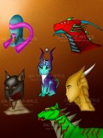 Creatures (again) by Skyrunners