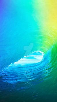 iOS 9 Wallpaper HD for iPhone 5/5C/5S WWDC2015 by armend07