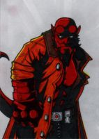 022. Hellboy by Christopher-Manuel