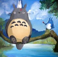 Totoro by AngelaM-96