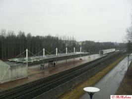 View at Koivukyla station by MiMaExtra