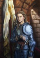 Warrior Women - Joan of Arc by FlamiatheDemon