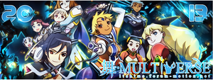 The Official 2013 Mai Multiverse Forum Banner by ShizNat4EVER