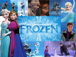 Disney's FROZEN collage by Creepyland