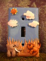 Jungle Switchplate by Mindslave24-7