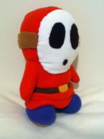 Shy Guy Plushie by TheEccentric-1