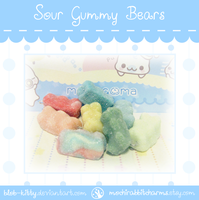 Sour Gummy Bears by ShinyCation