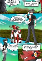 Bits and Bytes R1: Lost Hope Page 1 by FireReDragon