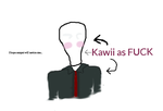 Kawii as f*ck Slender by MelancholyKitten