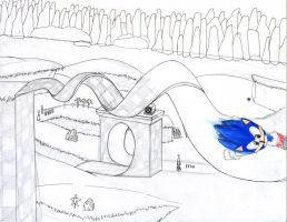 Green Hill Zone: WIP by QuesoGr7