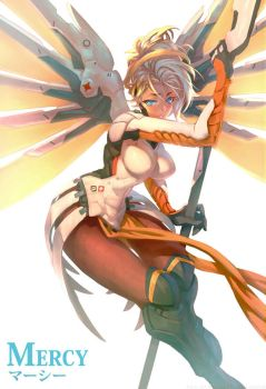 Mercy in the Sun by THEJETTYJETSHOW
