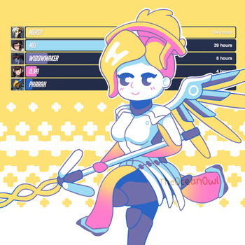 Overwatch Palette Challenge by TheOceanOwl