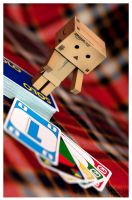 Danbo and the Solo game by Hemaka86