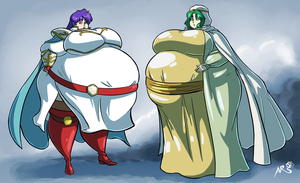 Commission - Fire Emblem Thacia 776 lbs. by Axel-Rosered