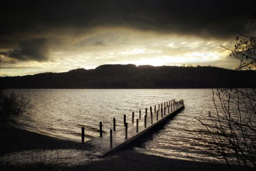 Cumbrian Spring: Windermere Jetty 1 by Coigach