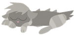 FREE Grey Kitty Thing Adoptable by Branchpaw