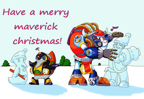 Maverick christmas - contest entry by SpeedlineTheHedgefox