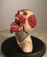 Side view of Zombie by Kahiah