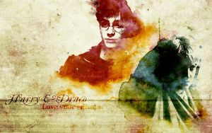Drarry Wallpaper by luthienelf