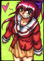 Ryoko Tribute ACEO by Foxy-Sketches