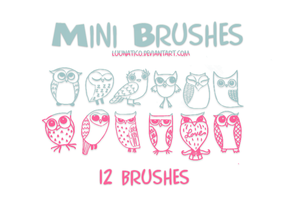 Mini Brushes by Luunatico