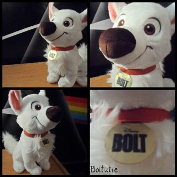 First Bolt 2012 plush by BoltCutie