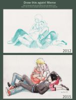 Team seven sleep old and new by VictoriaMelissa