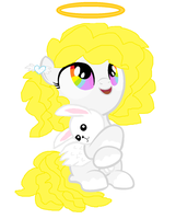 Mlp Fim Adoptable: Angel filly(CLOSED! by cottoncloudyfilly